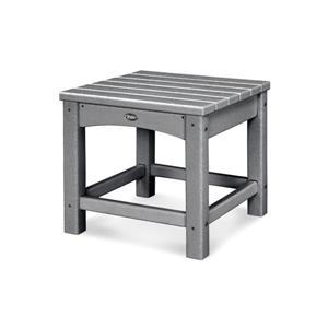 """Trex Rockport Club Outdoor Side Table - 18"""" - Grey"""