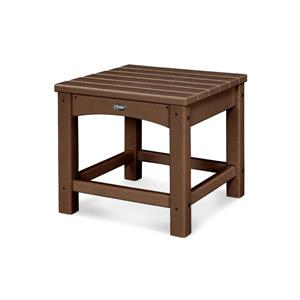 Trex Rockport Club Outdoor Side Table - 18-in - Brown
