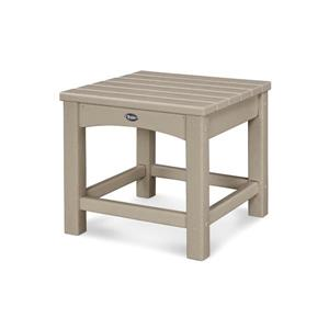 """Trex Rockport Club Outdoor Side Table - 18"""" - Tan"""