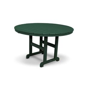 Trex Monterey Bay Round Dining Table - 48-in- Green