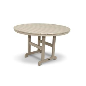 Trex Monterey Bay Round Dining Table - 48-in- Tan