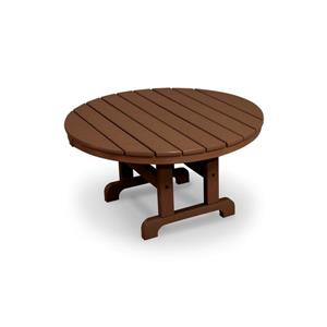Trex Cape Cod Round Conversation Table - 36-in - Brown