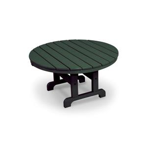 Trex Cape Cod Round Conversation Table - 36-in - Green