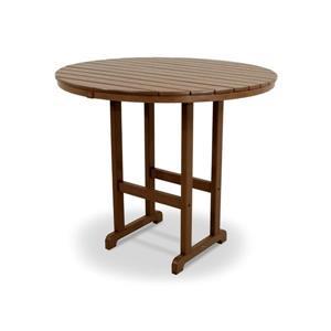 """Trex Monterey Bay Round Bar Table - 48"""" - Brown"""