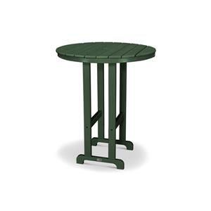 Trex Monterey Bay Round Bar Table - 48-in - Green