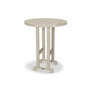 "Trex Monterey Bay Round Bar Table - 48"" - Tan"