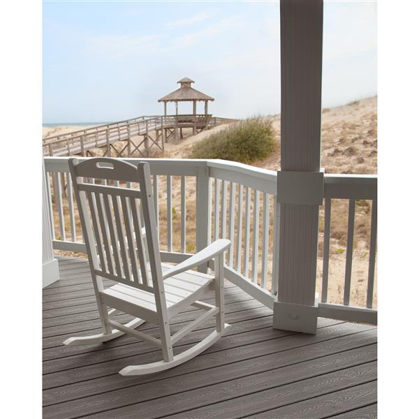 Trex Yacht Club Plastic Rocking Chair - Brown