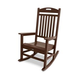 Trex Yacht Club Plastic Rocking Chair - Brown