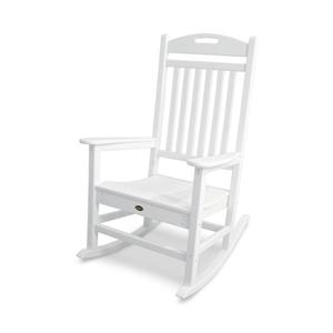 Trex Yacht Club Plastic Rocking Chair - White