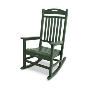 Trex Yacht Club Plastic Rocking Chair - Green