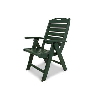 Trex Yacht Club Outdoor Plastic Chair - Green