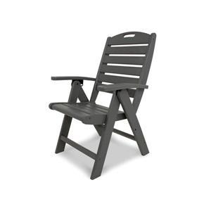 Yacht Club Outdoor Plastic Chair - Grey