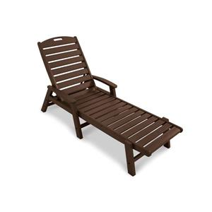 Trex Yacht Club Stackable Chaise - Brown