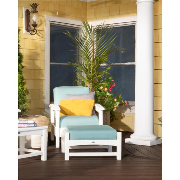 Trex Rockport Outdoor Club Chair - Grey