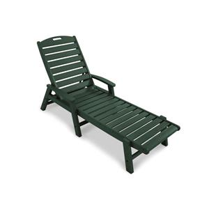 Trex Yacht Club Stackable Chaise - Green