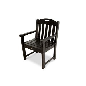 Trex Yacht Club Garden Arm Chair - Black