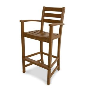 Trex Monterey Bay Bar Arm Chair - Brown