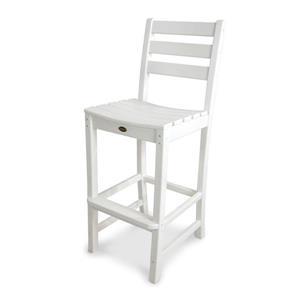 Monterey Bay Bar Side Chair - White