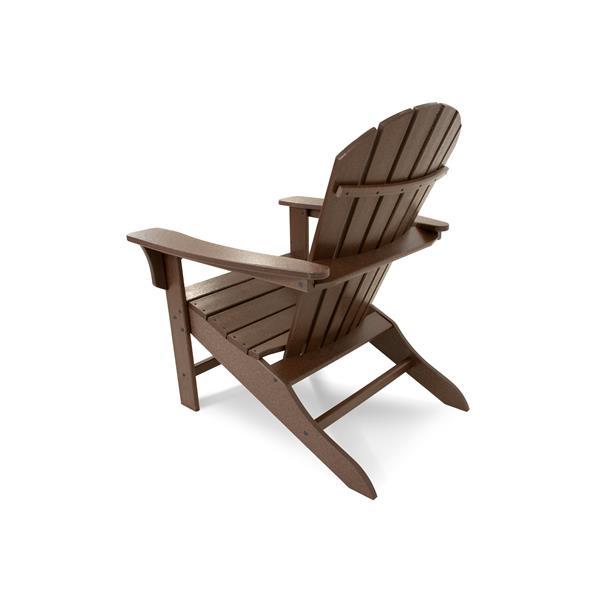 Trex Yacht Club Adirondack Chair - Brown
