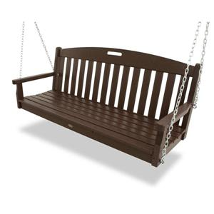 Trex Yacht Club Swing Set  - Brown