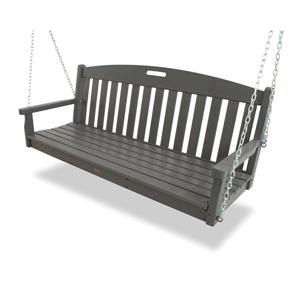 Trex Yacht Club Swing Set - Grey