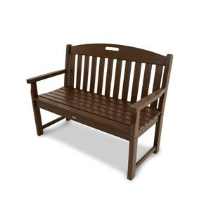 Trex Yacht Club Bench - 48-in - Brown