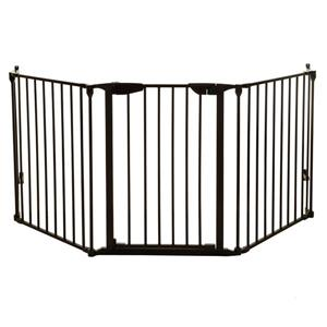Barrière adaptable Newport Dreambaby®, 3 côtés, noir