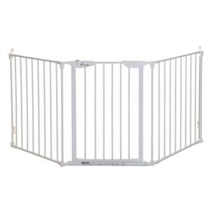 Barrière de sécurité Newport Adapta-Gate® Dreambaby®, blanc
