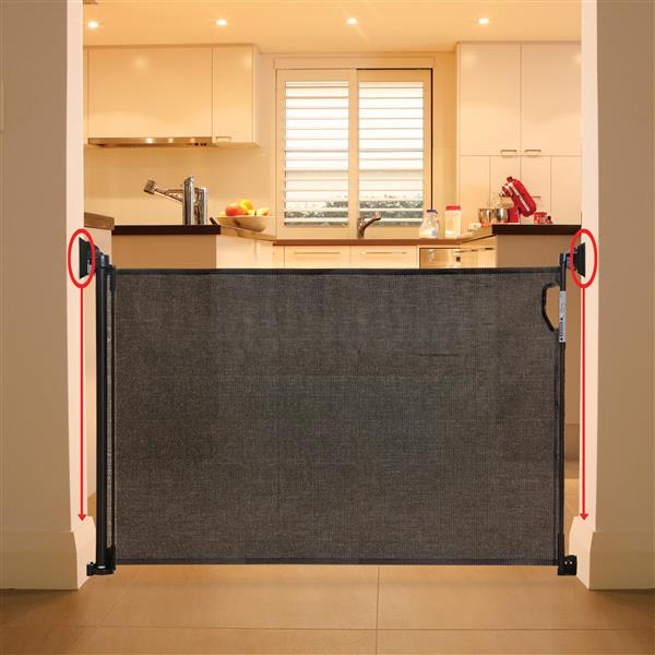 Dreambaby® Retractable Safety Gate Spacers - Black
