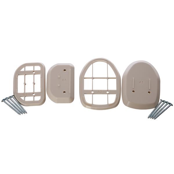Dreambaby® Retractable Gate Spacers - Beige