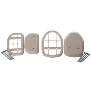 Espaceurs de barrière rétractables Dreambaby®, Beige