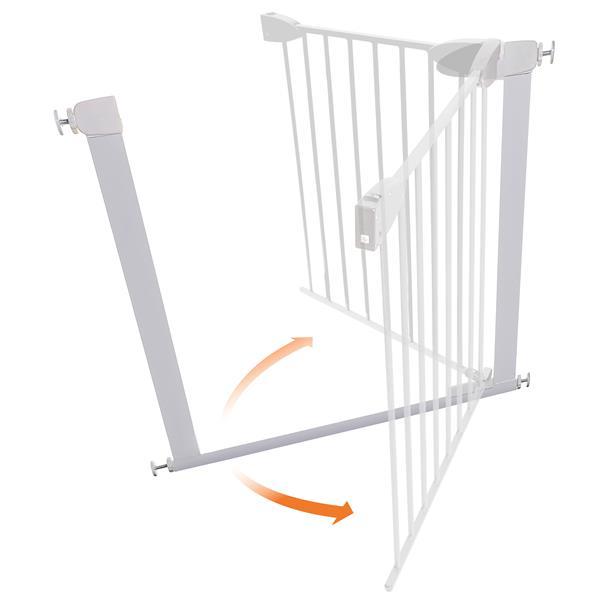 Dreambaby® Boston Magnetic Auto-Close Security Gate - White