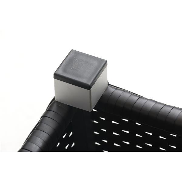 Think Patio Innesbrook Conversation Set with Cushions - Tan - 9-piece