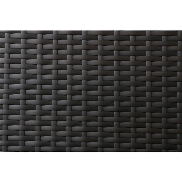 Think Patio Innesbrook Conversation Set with Cushions - Tan - 7-piece