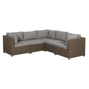 Chambers Bay Conversation Set with Cushions - Grey - 5-piece