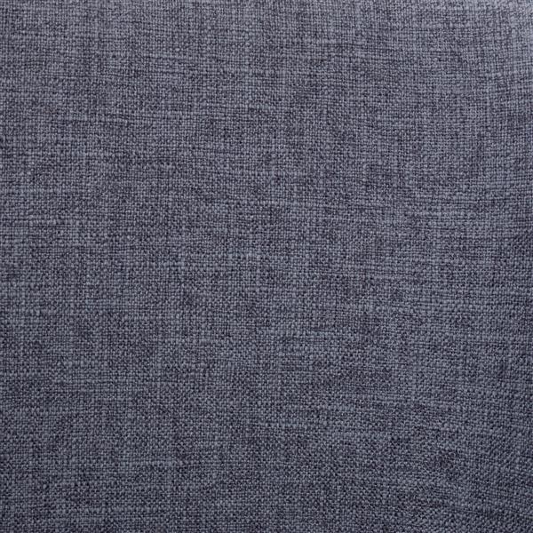 Lumisource Toriano Counter Stool in Walnut & Blue Fabric (Set of 2)