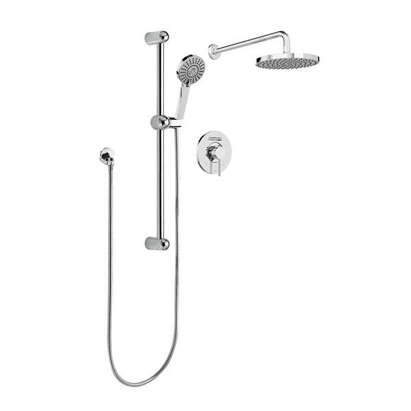 Belanger Kit Shower Faucet - Hand Shower Sliding Bar and Shower Head