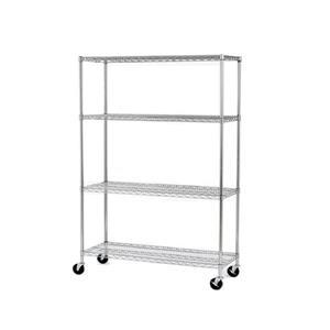 """Seville Classic Commercial Shelving - 4 Shelves - 48"""""""