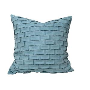 Urban Loft by Westex Brick Decorative Cushion - 20-in x 20-in - Multicoloured