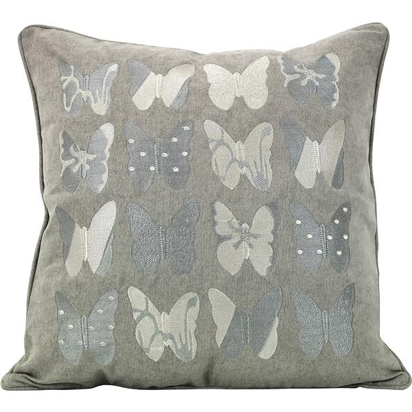Urban Loft by Westex Butterfly Decorative Cushion - 20-in x 20-in - Multicoloured