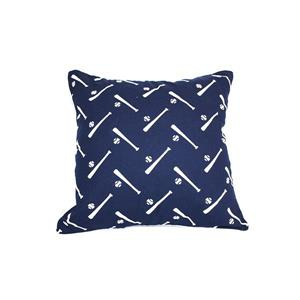 Urban Loft by Westex Baseball Decorative Cushion - 18-in x 18-in - Multicoloured