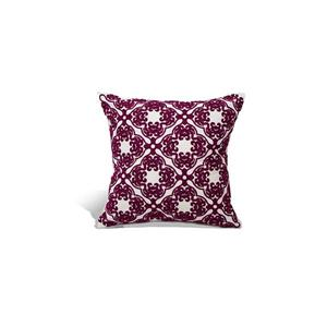 Urban Loft by Westex Morroccan Polyester Decorative Cushion - 18-in x 18-in - Pink