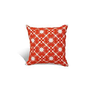 Urban Loft by Westex Morroccan Decorative Cushion - 18-in x 18-in - Orange