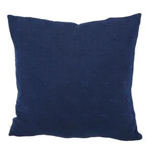 Urban Loft by Westex Star Brilliant Decorative Cushion - 18-in x 18-in - Navy