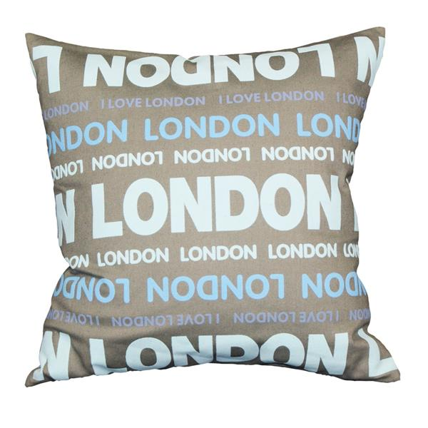 Urban Loft by Westex London Colours Decorative Cushion - 18-in x 18-in - Multicolours