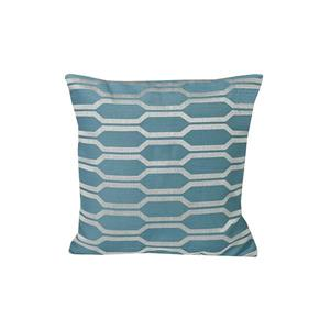 Urban Loft by Westex Hexagon Decorative Cushion - 20-in x 20-in - Blue