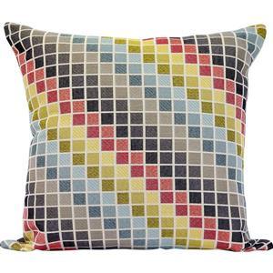 """Coussin décoratif «Tetris», 20"""" x 20"""", multicolore"""