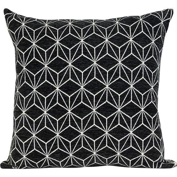 Urban Loft by Westex Spider Decorative Cushion - 20-in x 20-in x 4-in - Black