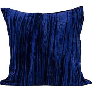 Urban Loft by Westex Velvet Decorative Cushion - 14-in x 26-in - Navy