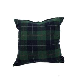 Urban Loft by Westex Tartan Decorative Cushion - 20-in x 20-in - Green